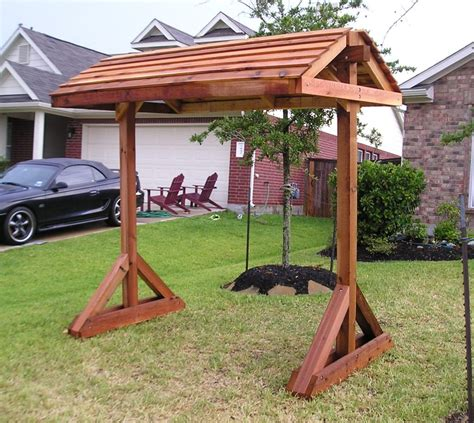 how to build a freestanding porch swing extraordinary pergola swing stand plans garden landscape