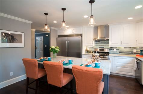 aven and phillip s kitchen has savoy house glass filament pendants the island featured on