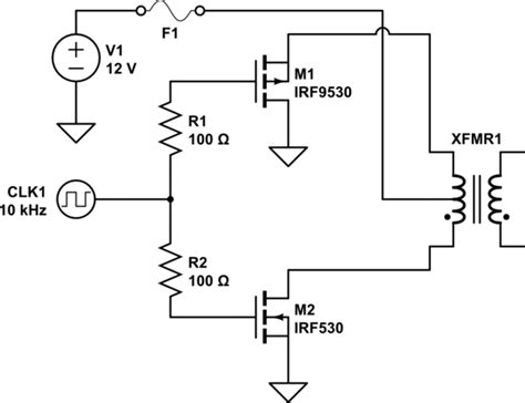 transistor transforming resistor transistors n channel and p channel mosfet for inverter electrical engineering stack exchange