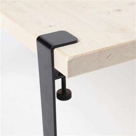 jeu de 4 petits de table amovible design industriel