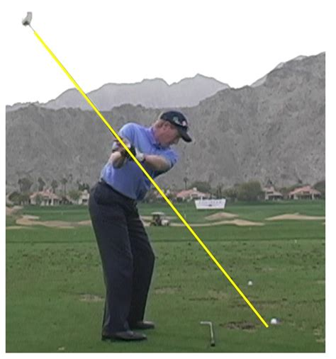 correct golf swing correct swing plane for driver