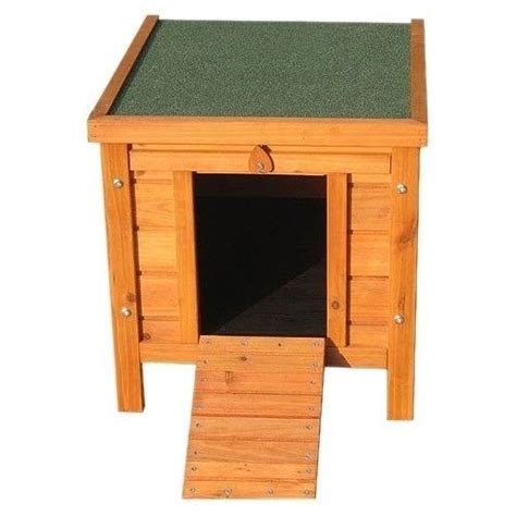 Outdoor Cat Furniture by Wooden Cat House Outdoor Kennel Small Pet Shelter