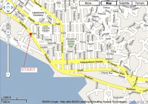 map of port of spain streets port of spain map map