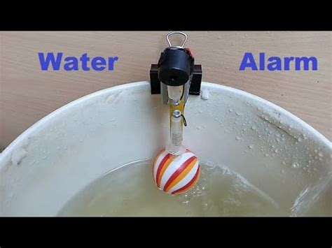 water alarm how to make water overflow alarm at home