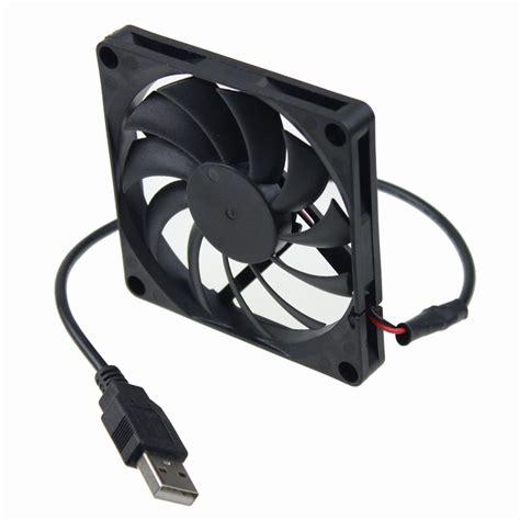 usb computer fan gdstime 80mm 5v usb 80x80x10mm 8cm 8010 brushless dc