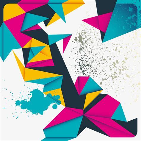 figuras geometricas de colores color geometric background material color geometric
