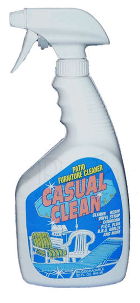 Casual Clean Patio Furniture Cleaner Casual Clean 32 Oz Spray Bottle