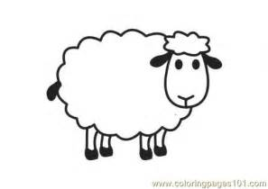 sheep printable free t sheep coloring pages
