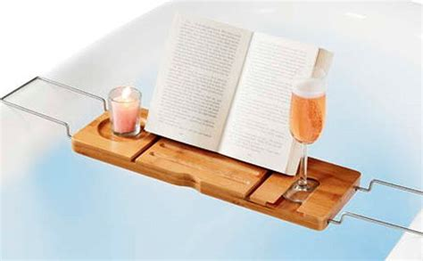 bathtub caddy with book holder pinterest the world s catalog of ideas