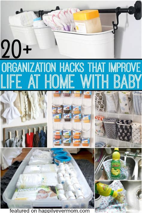 organize hacks organization hacks for everything that baby needs