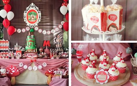 party themes with red kara s party ideas little red riding hood first birthday