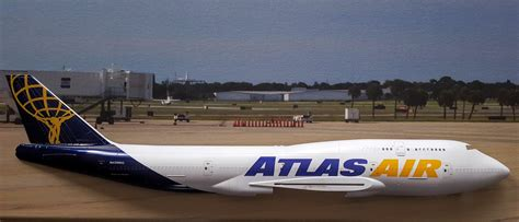 atlas air for b747 400 pax cargo authentic airliner decals