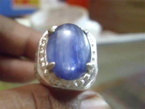 Batu Akik Blue Stien Unik watusiji nusakambangan gemstone sold blue sapphire murah gan