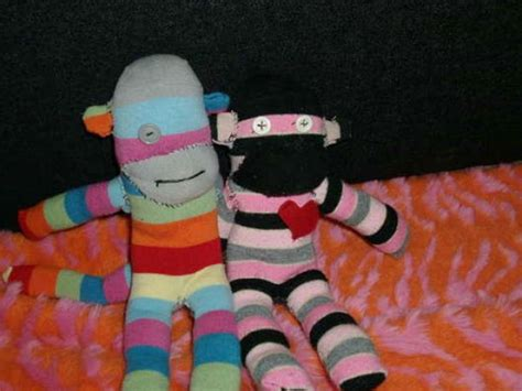 how to make a sock monkey step by