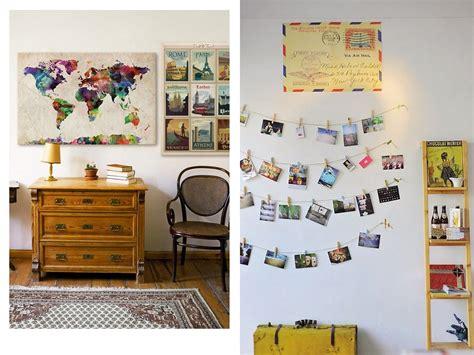 decorar con fotos de viajes una decoraci 243 n con recuerdos de viajes y vacaciones