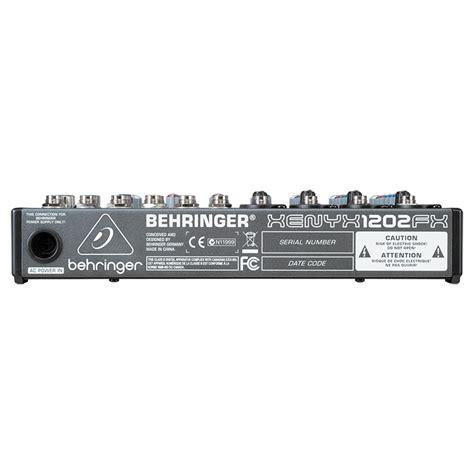 Mixer Behringer 1202 Fx 1202fx mixer behringer xenyx 1202fx mixer behringer 1202fx