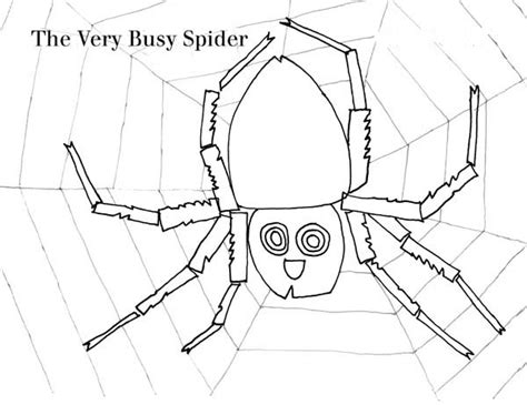 the spider colouring pages