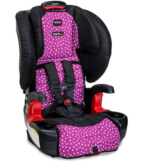 car seat harness britax pioneer g1 1 harness 2 booster car seat confetti