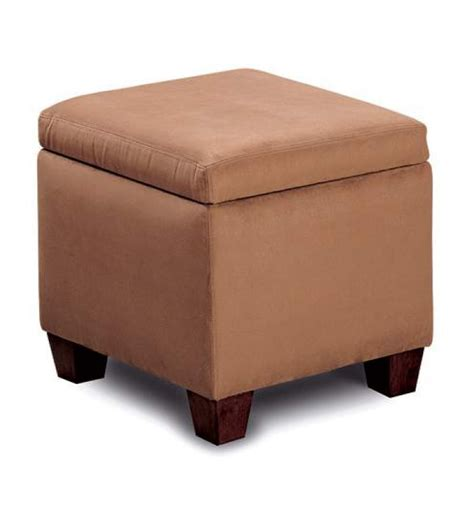 Ottomans At Homelement Com Brown Storage Ottoman