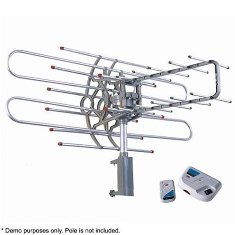 membuat antena outdoor tv outdoor remote controlled rotating uhf vhf tv antenna