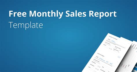 sle of an report monthly sales report template fundivo