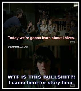 Walking Dead Season 4 Memes - deadshed productions story time edition the walking dead