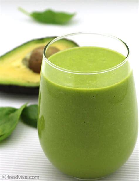 Orange Avocado Green Detox Juice by Avocado Smoothie Recipe Dishmaps