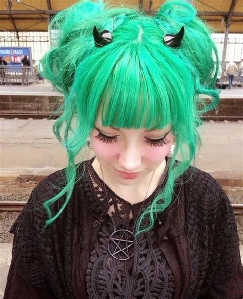old goth bangs hairstyle 1373 best images about tatts n hair on pinterest scene