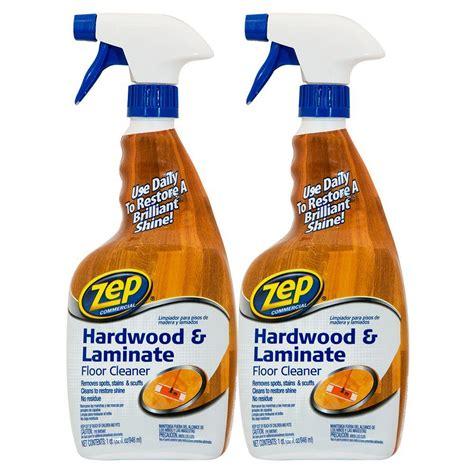 ZEP 128 Oz. Hardwood And Laminate Floor Cleaner ZUHLF128