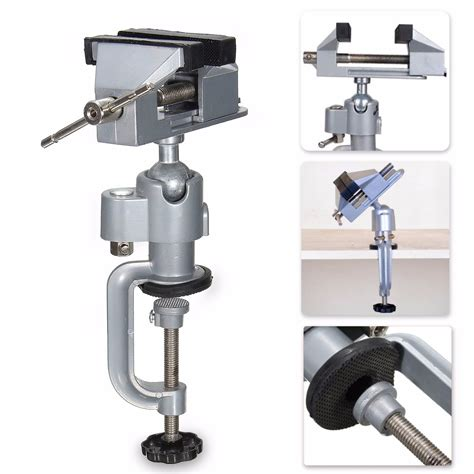 rotating bench vise vise work bench swivel 360 176 rotating cl tabletop deluxe