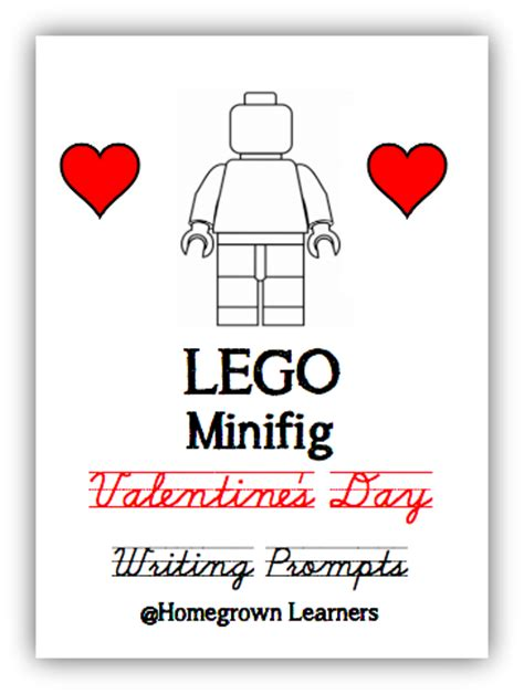 valentines day writing prompts lego ideas and free writing prompts homegrown