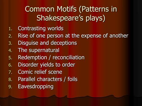 common themes between hamlet and macbeth ppt twelfth night by william shakespeare powerpoint