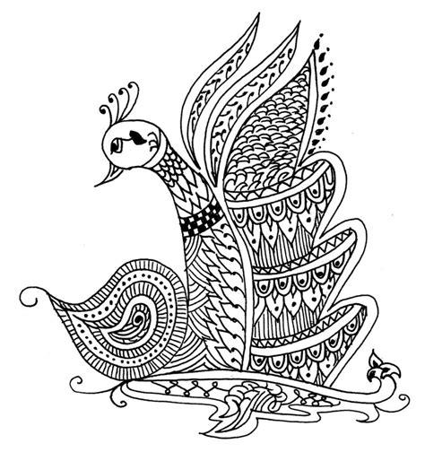 peacock henna design 2 by kiranb on deviantart
