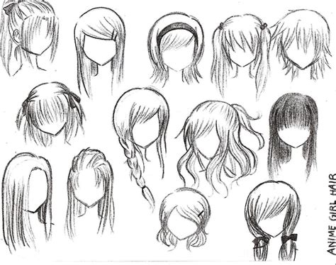 anime hairstyles female tutorial hair tutorials favourites by isakurasnow on deviantart