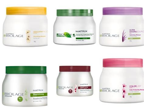 Masker Rambut Schwarzkopf matrix biolage hydrasource hair mask om hair