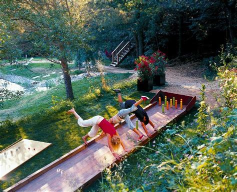 Backyard Bowling Alley by Outdoor Entertaintment Area Outdoortheme