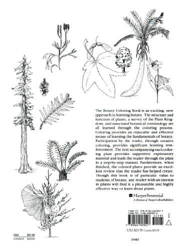 botany coloring book the botany coloring book toolfanatic