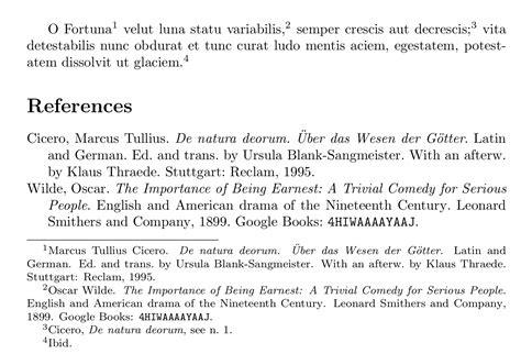 footnote format ibid biblatex refer to footnote of first citation in citestyle