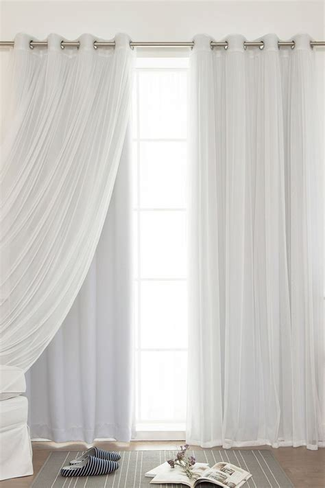 Curtains Curtain Length Amazing White Flowy Curtains