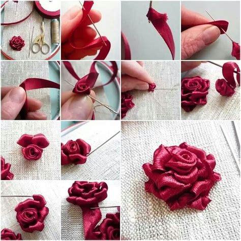 Paper Ribbon Flower - 25 best ideas about ribbon on ribbon