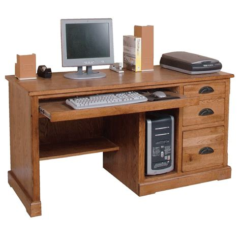pc desk design rustic oak desk rustic oak computer desk oak desk