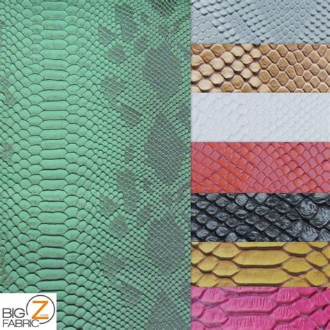 Where To Buy Leather Upholstery Fabric by Viper Sopythana Embossed Snake Skin Vinyl Leather Fabric