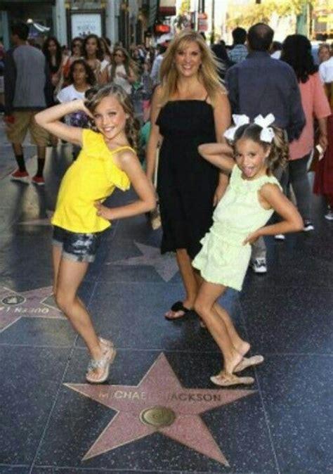dance moms maddie and kenzie maddie melissa mackenzie in hollywood dance moms