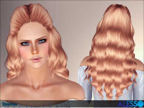 download wavy hair for sims 3 anto spectrum hair