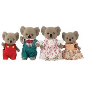 sylvanian families koala family 4158