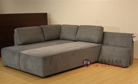 ship new york by luonto chaise sectional fabric sofa