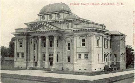Asheboro Post Office by How Asheborough Became Asheboro St Paul Museum