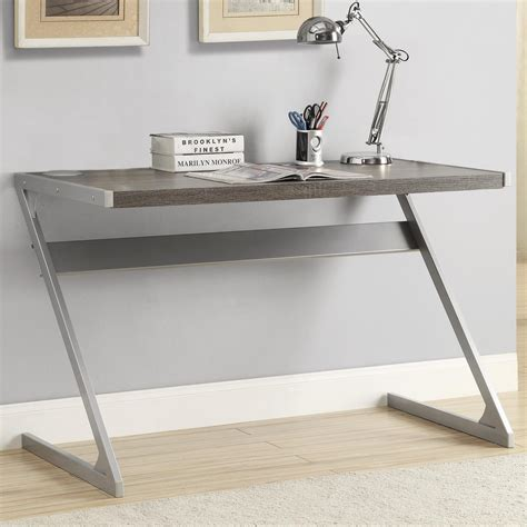 coaster laptop stand with casters value city furniture coaster 800826 bluetooth computer desk grey priceco