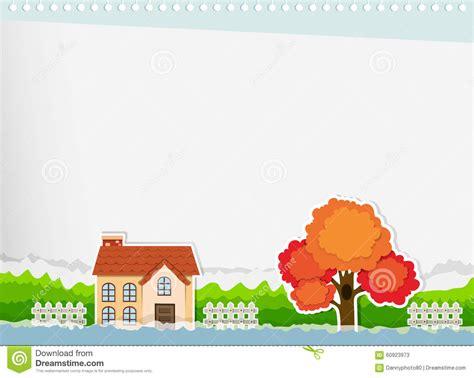 house border design border design with a house stock illustration illustration of background 60923973