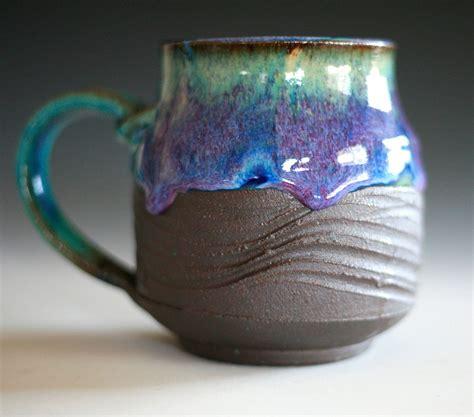 Mug Keramik Promosi 13 pottery coffee mug 13 oz coffee mug pottery handmade cup thrown mug stoneware mug